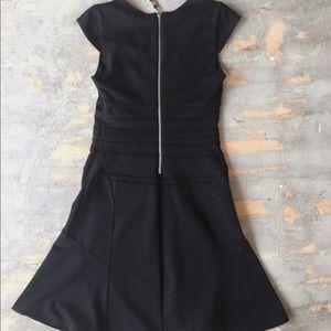 Jennifer Lopez Black Flare LBD Mini Dress